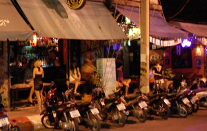 Lit up Red in Chiang Mai…